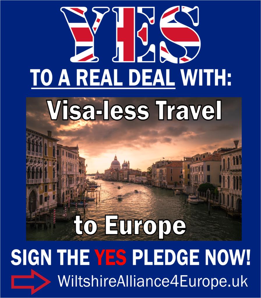 Visa-less travel to Europe